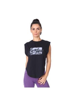 Sportive Kadın Siyah Tişört 711033-syh