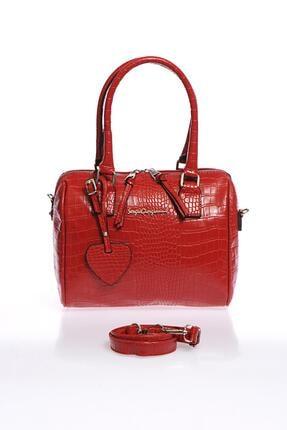 Sergio Giorgianni Luxury Sg1082019-4 Kırmızı Kadın Omuz Çantası