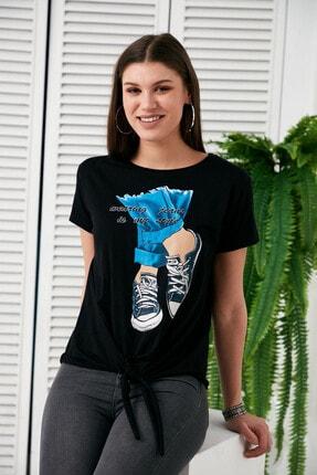 Morpile Baskılı T-shirt
