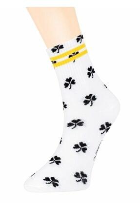 Suwen Clover Soket Çorap