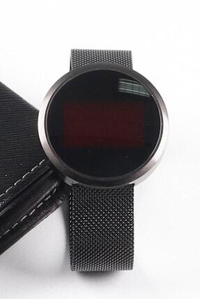 Ricardo Siyah Dokunmatik Dijital Unisex Kol Saati (Kutulu)