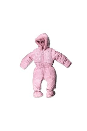 Bombili Kız Bebek Kozmonot Mont