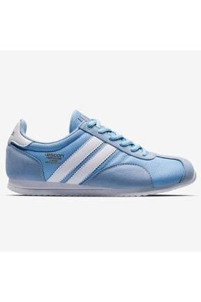 Lescon Campus Mavi Bayan Sneaker Spor Ayakkabı