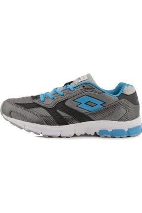 Lotto R6052 Zenith Iıı Gri Mavi Günlük Esnek Spor Ayakkabı