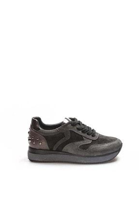 Fast Step Kadın  Siyah Hakiki Deri Casual Ayakkabı 009za923