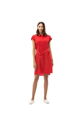 Nautica Nautıca Kadın Kırmızı Elbise