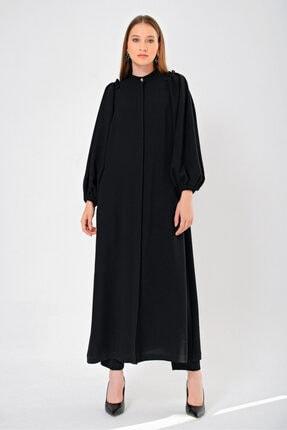 Aker Y71100524 Kadın Siyah Elbise