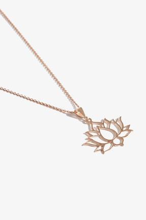 Lapidore Lotus Rose Gold Kolye