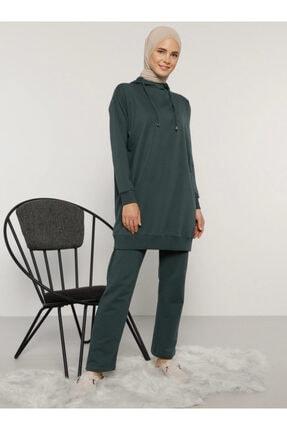 Everyday Basic Kadın Yeşil Tunik&pantolon Ikili Takım 1686554
