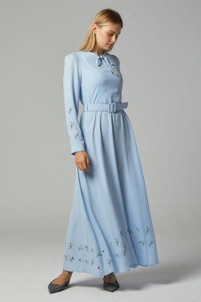 Doque Elbise-mavi Do-b20-63019-09
