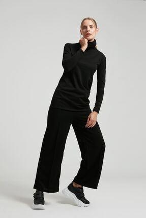 Batik A1108 Orm Duz Casual Pantolon Sıyah
