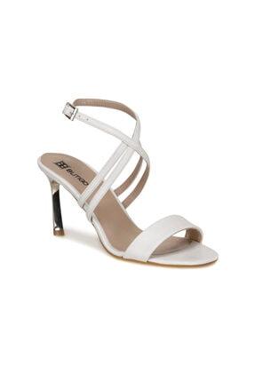Butigo KUSA Beyaz Kadın Topuklu Ayakkabı 100532851