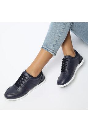 Art Bella Kadın Lacivert  Bağcıklı  Sneaker CS20003