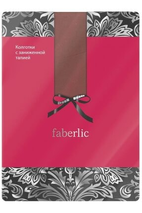 Faberlic Kahve Bronz Rengi Düşük Bel Külotlu Çorap Xs 82796