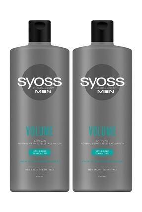 Syoss Men Volume Şampuan 500 ml X2 Adet