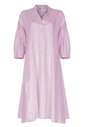 GTNight Keten Kolları Nervürlü Elbise