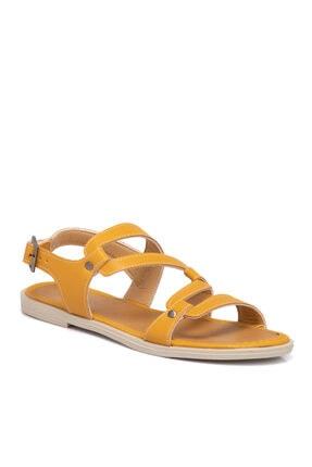 Tergan Hardal Vegan Kadın Sandalet 210143q2p