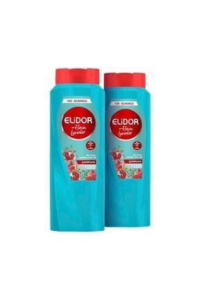 Elidor Gün Boyu Hacimli Saçlar Saç Bakım Şampuanı By Elvin Levinler 650 ml X2