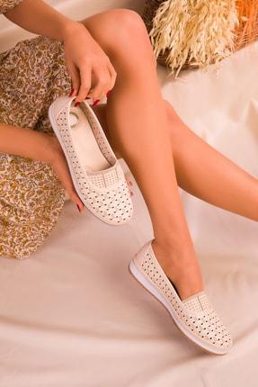 SOHO Bej Kadın Casual Ayakkabı 16183