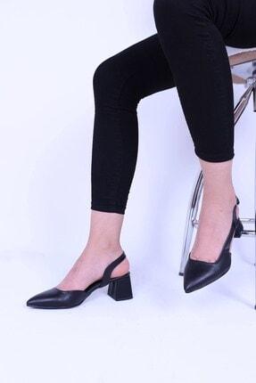 Derigo Siyah Kadın Topuklu Ayakkabı 39369