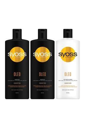 Syoss Oleo Derinlemesine Bakım Şampuan 500 Ml + Saç Kremi 500 ML