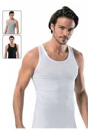 ERDEM 1116 Elastan Erkek Atlet | Beyaz
