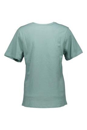 Collezione Mint Kadın Örme Tshirt Kısa Kol