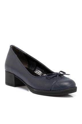 Tergan Kadın Lacivert Deri Ayakkabı 65220a31