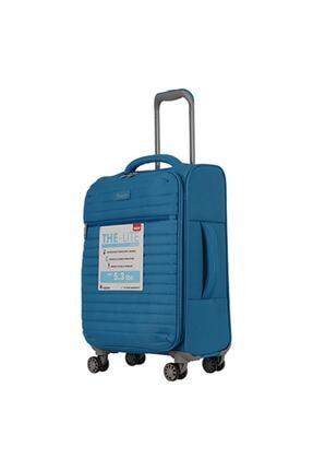ITLUGGAGE Ity2148-s Mavi Unısex Kabin Boy Valiz