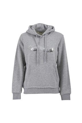 LTB Kadın Gri Zonede Sweatshirt
