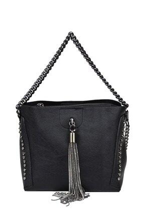 Kriste Bell Kadın Siyah Çapraz Çanta