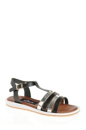 Derigo Siyah Kadın Sandalet 52471