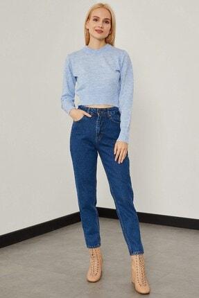 Arma Life Kar Yıkama Mom Pantolon - Orta Mavi