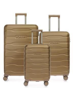 Fossil Fsy1130-set Bronz Unısex Üçlü Set Bavul