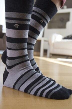 The Socks House Çok Çizgi Desenli Çorap