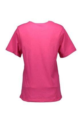 Collezione Fuşya Kadın Örme Tshirt Kısa Kol