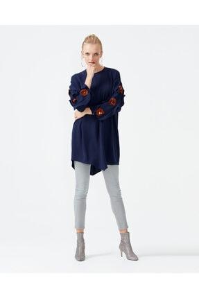 Seçil Kadın Lacivert Tunik