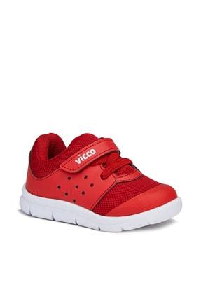 Vicco Mario Unisex Bebe Kırmızı Spor Ayakkabı