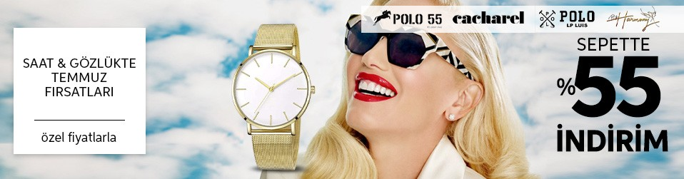Saat & Gözlükte Temmuz Fırsatları Online Satış
