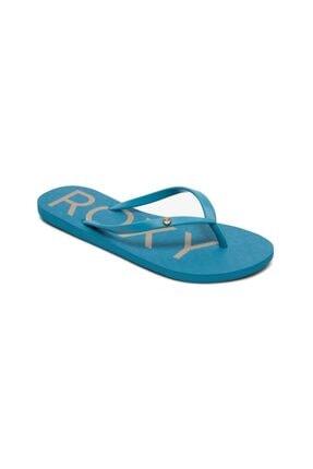 Roxy Kadın Mavi Sandy Terlik