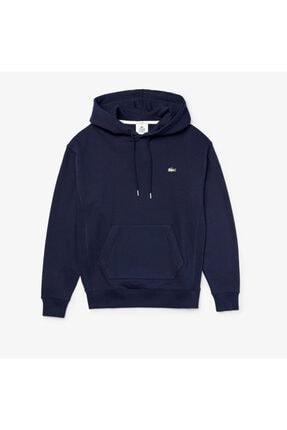 Lacoste Unisex LIVE Kangaroo Pocket Hooded Sweatshirt SH8134