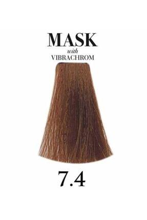 Davines Mask Vibrachrom 7,4 Orta Bakır Kumral Saç Boyası 100ml