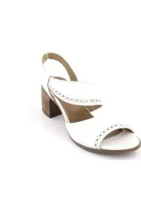 Venüs Kadın Beyaz  Sandalet