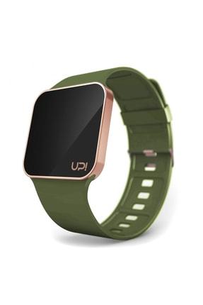 UpWatch Upwatch Upgrade Matte Gold Rose Green Unisex Kol Saati