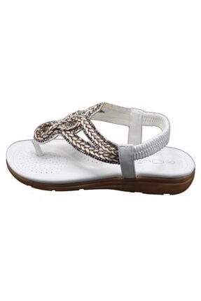 Guja Kadın Beyaz Yastık Taban Sandalet 20y200-8