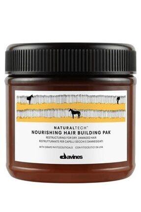 Davines Naturaltech Nourishing Hair Building Pak Yıpranmış Kuru Saç Maskesi 250 ml