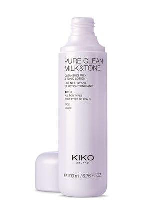KIKO 2'si 1 Arada Temizleme Sütü ve Tonik - Pure Clean Milk & Tone