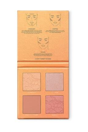 KIKO 2'li Yüz Paleti - Tuscan Sunshine Face Palette