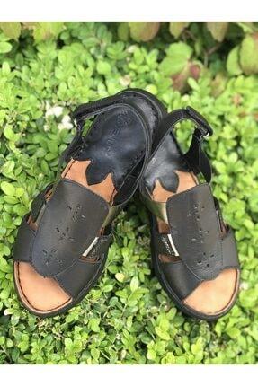 Venüs Kadın Siyah Sandalet 2094108y