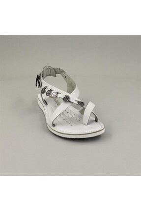 Venüs Kadın Beyaz Sandalet 20980209